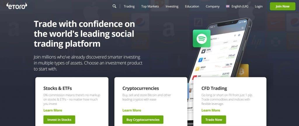 Mobilní možnosti pro obchodníky E Toro - aplikace iOS eToro a aplikace Android eToro
