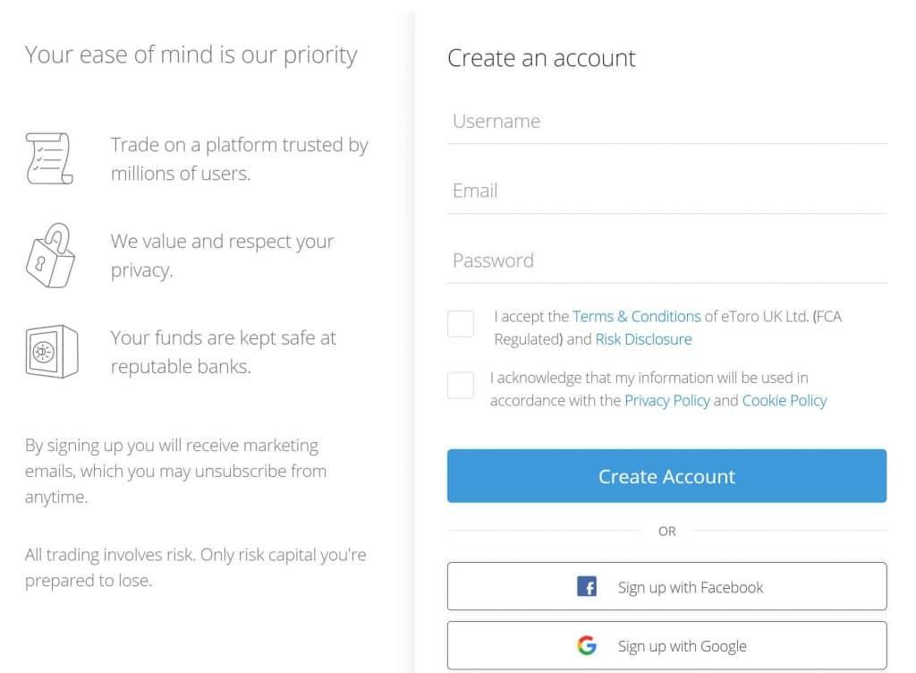 كيفية التسجيل للحصول على حساب ايتورو عبر الإنترنت