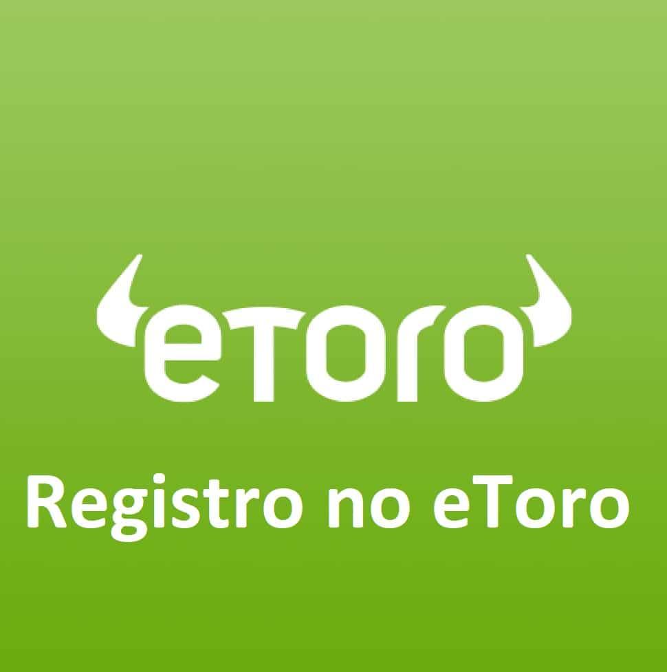 Registro no Etoro