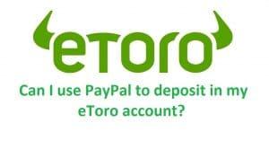 eToro Paypal Deposit